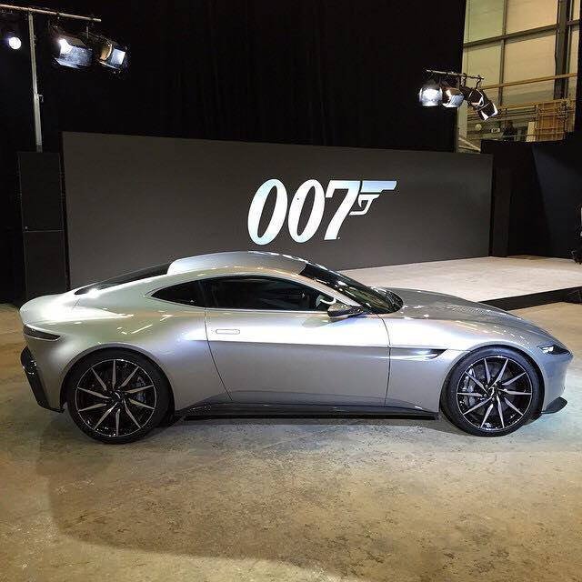 Beautiful New Aston Martin Commemorates 50 Years With 007