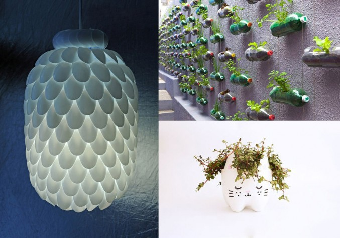 Creative ways to reuse old plastic bottles for Creative use of plastic bottles
