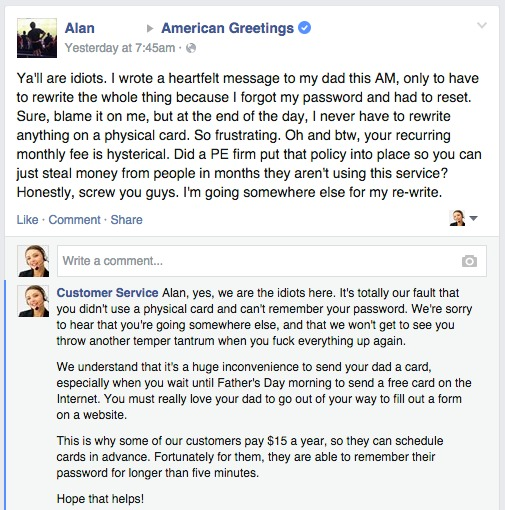 Fake customer service page responds to real customer complaints on fake customer service page responds to real customer complaints on facebook m4hsunfo